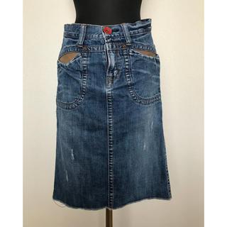 アントゲージ(Antgauge)のアントゲージ デニムスカート(ひざ丈スカート)