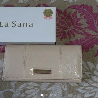 ラサーナ(LaSana)のLa sana / ノベルティー  長財布(財布)
