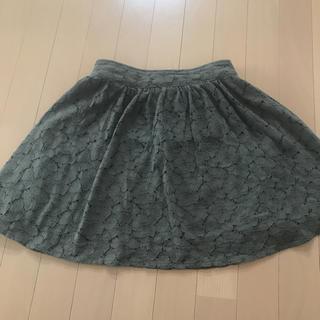 シマムラ(しまむら)のカーキレース スカート(スカート)