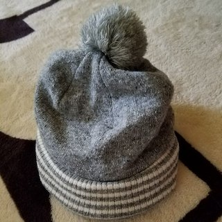 シシュノン(SiShuNon)のシシュノン 子供用 帽子 グレー 新品(帽子)