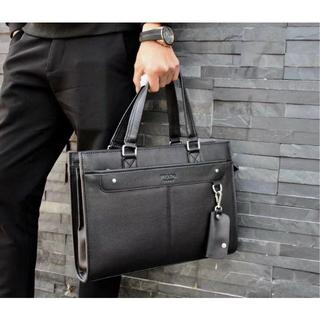 プラダ(PRADA)のPRADA プラダ メンズ トートバッグ 書類バッグ ビジネスバッグ  ブラック(ビジネスバッグ)
