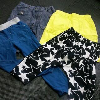 ジーユー(GU)の中古!男の子110サイズ夏服ズボン四点セット(パンツ/スパッツ)