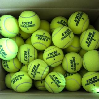 ブリヂストン(BRIDGESTONE)のテニスボール(中古良品)30球 送料込(ボール)