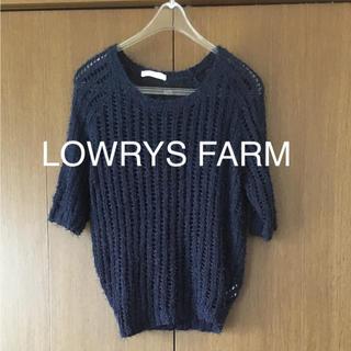 ローリーズファーム(LOWRYS FARM)の○ 未使用 ローリーズ  ファームサマーニット M(ニット/セーター)