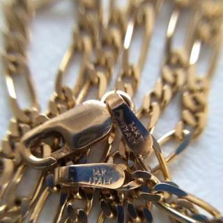 アヴァランチ(AVALANCHE)のアヴァランチ 14k フィガロ ネックレス(ネックレス)