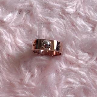ルイヴィトン(LOUIS VUITTON)のほぼ新品☆ LOUIS VITTON 指輪 ピンクゴールドリング♡(リング(指輪))