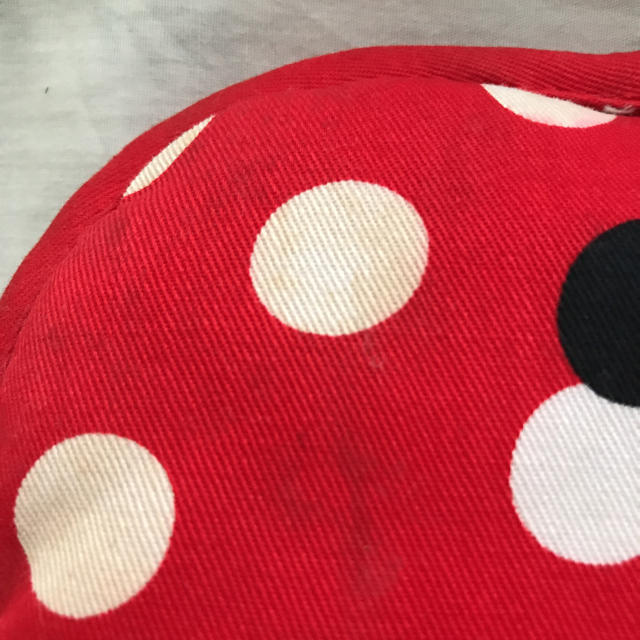 Disney(ディズニー)のミニーちゃん 鍋つかみ ハンドメイドの生活雑貨(キッチン小物)の商品写真