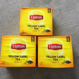 リプトン イエローラベル ティーバッグ 50袋入×3(茶)