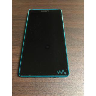 ウォークマン(WALKMAN)のSONY ウォークマン Fシリーズ F886 32GB ブルー 付属品全付(ポータブルプレーヤー)