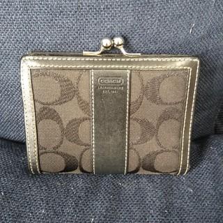 コーチ(COACH)のCOACHがま口折り財布(財布)