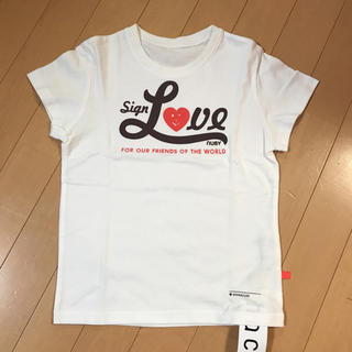 ハコ(haco!)のhaco! nusy キッズ Tシャツ 120センチ(Tシャツ/カットソー)