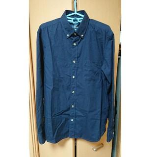コムサコミューン(COMME CA COMMUNE)の古着 ネイビーチェックシャツ(シャツ)