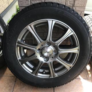 グッドイヤー(Goodyear)のスタッドレスタイヤ 165/65/14 4本セット(タイヤ・ホイールセット)