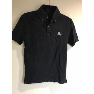 バーバリーブラックレーベル(BURBERRY BLACK LABEL)のボタンダウン ポロシャツ(ポロシャツ)
