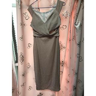 デイジーストア(dazzy store)のdazzy ミディアムドレス Lサイズ(ミディアムドレス)