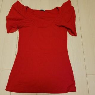クーカイ(KOOKAI)の袖フリル♥(Tシャツ(半袖/袖なし))