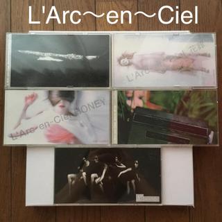 ラルクアンシエル(L'Arc~en~Ciel)の【CD9枚セット】ラルク・アン・シエル+おまけシングル4枚(ポップス/ロック(邦楽))
