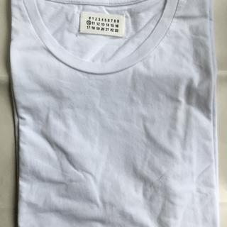 マルタンマルジェラ(Maison Martin Margiela)のメゾンマルジェラ白tシャツ(Tシャツ/カットソー(半袖/袖なし))