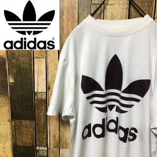 アディダス(adidas)の【ダッチ様専用☆】アディダスオリジナルス☆ビッグトレフォイルプリントTシャツ (Tシャツ/カットソー(半袖/袖なし))