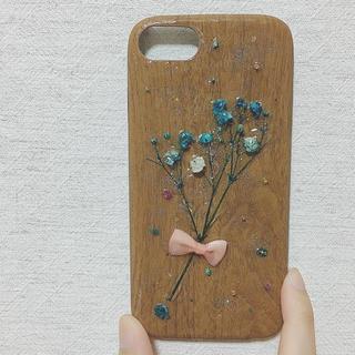 かすみ草de花束♡iPhoneケース(スマホケース)