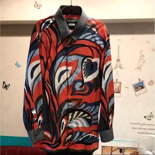 ドルチェアンドガッバーナ(DOLCE&GABBANA)のドルガバ アートシャツ(シャツ)