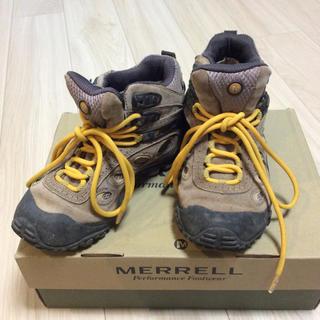 メレル(MERRELL)のMERRELL メレル トッレッキングシューズ サイズ22.5(登山用品)