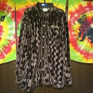 クロスカラーズ(CROSS COLOURS)のCROSS COLOURS ファーチェックシャツ/大きいサイズ(シャツ)