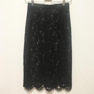 アネラリュクス(ANELALUX)の新品・未使用  ANELA ✴︎ LUX レーススカート(ひざ丈スカート)