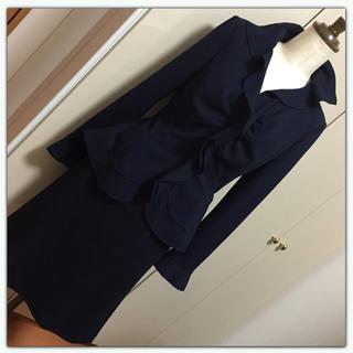 ナラカミーチェ(NARACAMICIE)の美品☆ナラカミーチェ☆紺スーツ(Ⅱ)(スーツ)