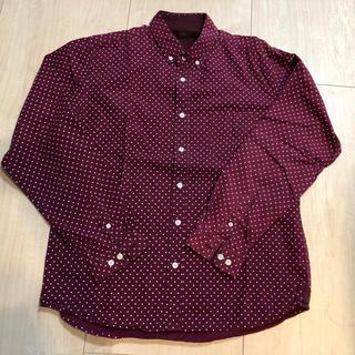 オーセンティックシューアンドコー(AUTHENTIC SHOE&Co.)のAUTHENTIC ドットシャツ (Tシャツ/カットソー(七分/長袖))