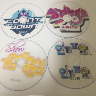 K-pop番組 4枚セット(180607~180610)(K-POP/アジア)