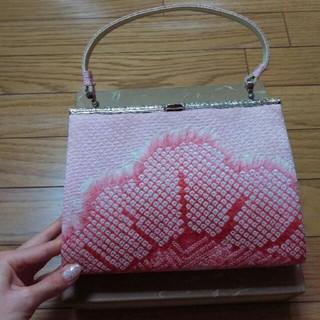 着物鞄 ピンク(和装小物)