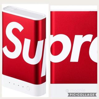 シュプリーム(Supreme)のシュプリームsupreme/mophie 10K モーフィー充電器(バッテリー/充電器)