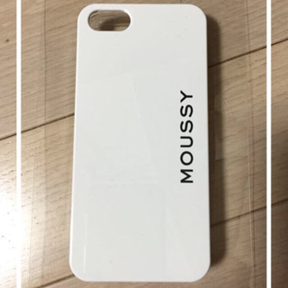 マウジー(moussy)のmoussy iPhone5/5sカバー(モバイルケース/カバー)