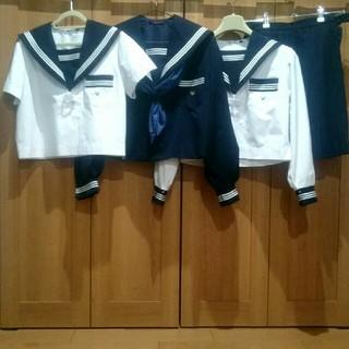 【学生服】155A セーラー服 5点セット 濃紺