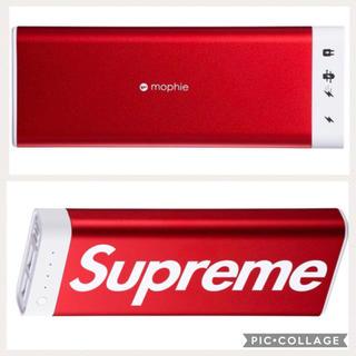 シュプリーム(Supreme)のシュプリームsupreme/mophie  20K モーフィー充電器(バッテリー/充電器)