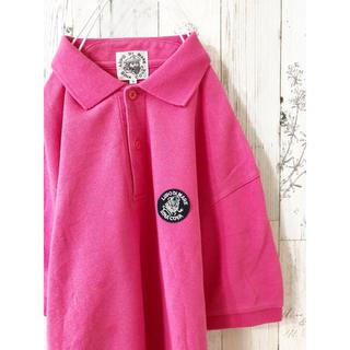 シナコバ(SINACOVA)の古着 SINACOVA ポロシャツ ピンク (ポロシャツ)