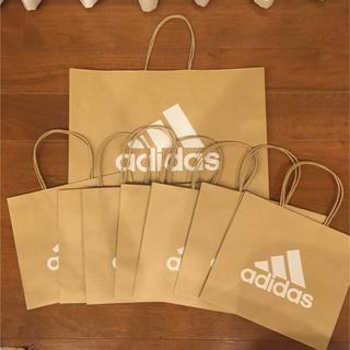 アディダス(adidas)のadidas紙袋 アディダスショッパー 8枚(ショップ袋)