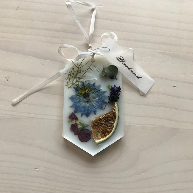 Aroma wax sachet アロマワックスサシェ ハンドメイドのインテリア/家具(アロマ/キャンドル)の商品写真