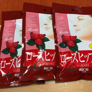 新品☆未開封 ローズヒップティー ハイビスカス入 20袋×3(茶)