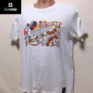 サブサエティ(Subciety)のサブサエティ◆ホワイトTEE (Tシャツ/カットソー(半袖/袖なし))