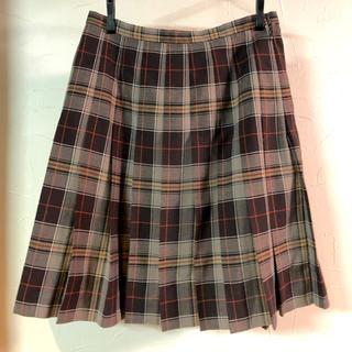イーストボーイ(EASTBOY)のEAST BOY チェックプリーツスカート(ひざ丈スカート)