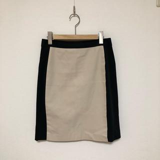 デミルクスビームス(Demi-Luxe BEAMS)のバイカラー*スカート(ひざ丈スカート)
