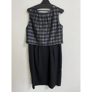 バビロン(BABYLONE)の売り切り価格★BABYLONE  saloon  黒ワンピース(ひざ丈ワンピース)