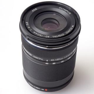 オリンパス(OLYMPUS)のM.ZUIKO DIGITAL ED 40-150mm F4.0-5.6 R 黒(レンズ(ズーム))