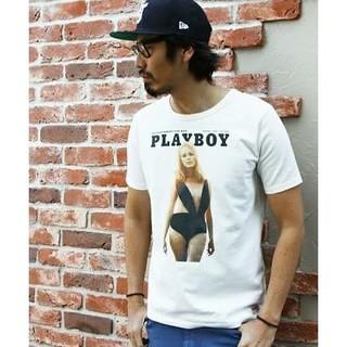 """ザダファーオブセントジョージ(The DUFFER of ST.GEORGE)のduffer×PLAYBOY """"PLAYMATE"""" TEE XL(Tシャツ/カットソー(半袖/袖なし))"""