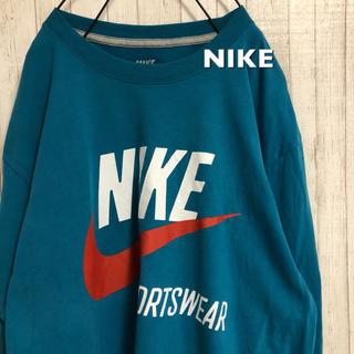 NIKE - 古着 NIKE ナイキ デカロゴ Tシャツ