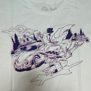アルトラバイオレンス(ultra-violence)のジョジョ Tシャツ  岸辺露伴  ヘブンズドアー 白 サイズM(Tシャツ/カットソー(半袖/袖なし))