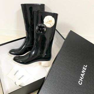 シャネル(CHANEL)の大人気商品 CHANEL レインブーツ 36(レインブーツ/長靴)