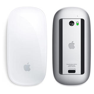 アップル(Apple)の【美品】Apple Magic Mouse (MB829J/A)(PC周辺機器)